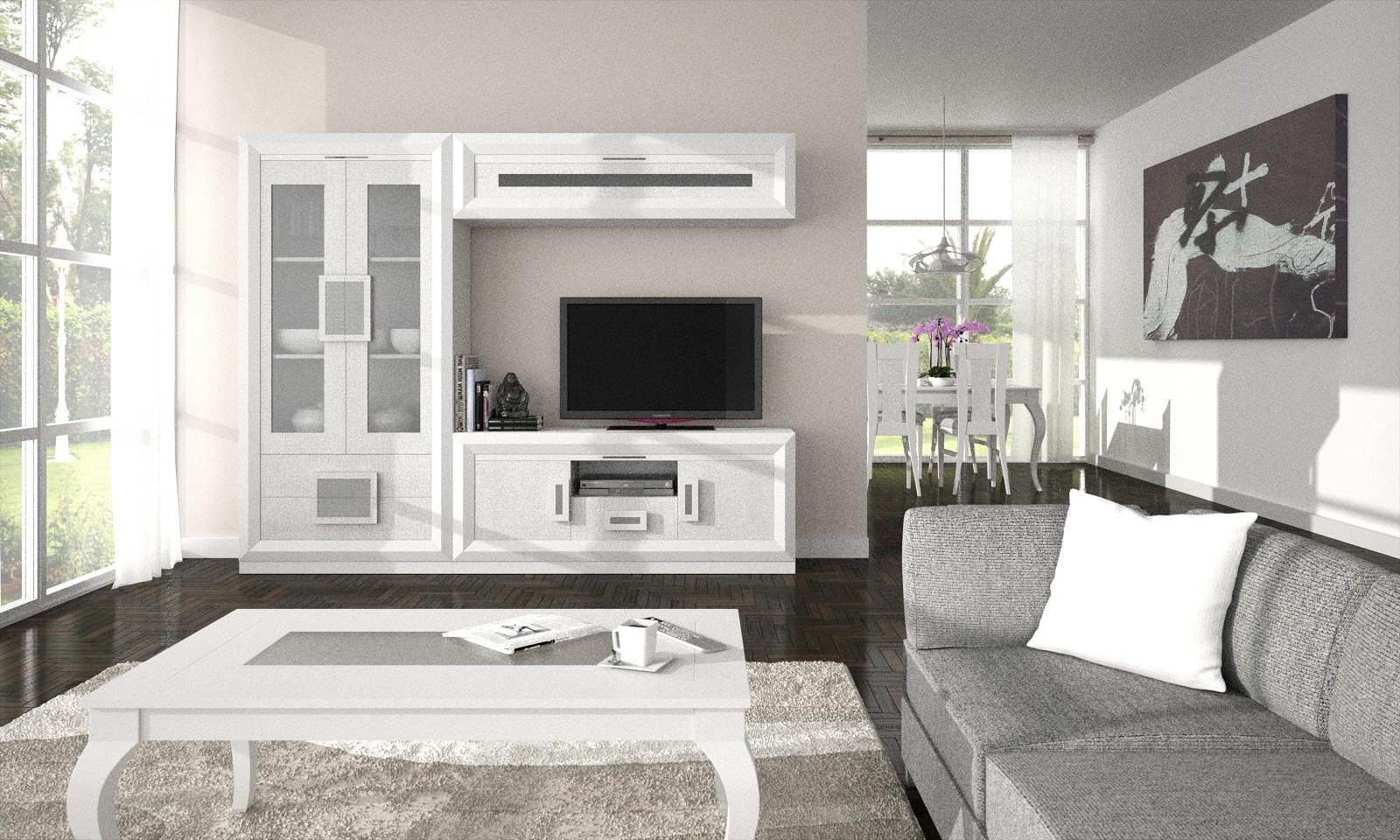 Composition Lounge 654 # Muebles White House
